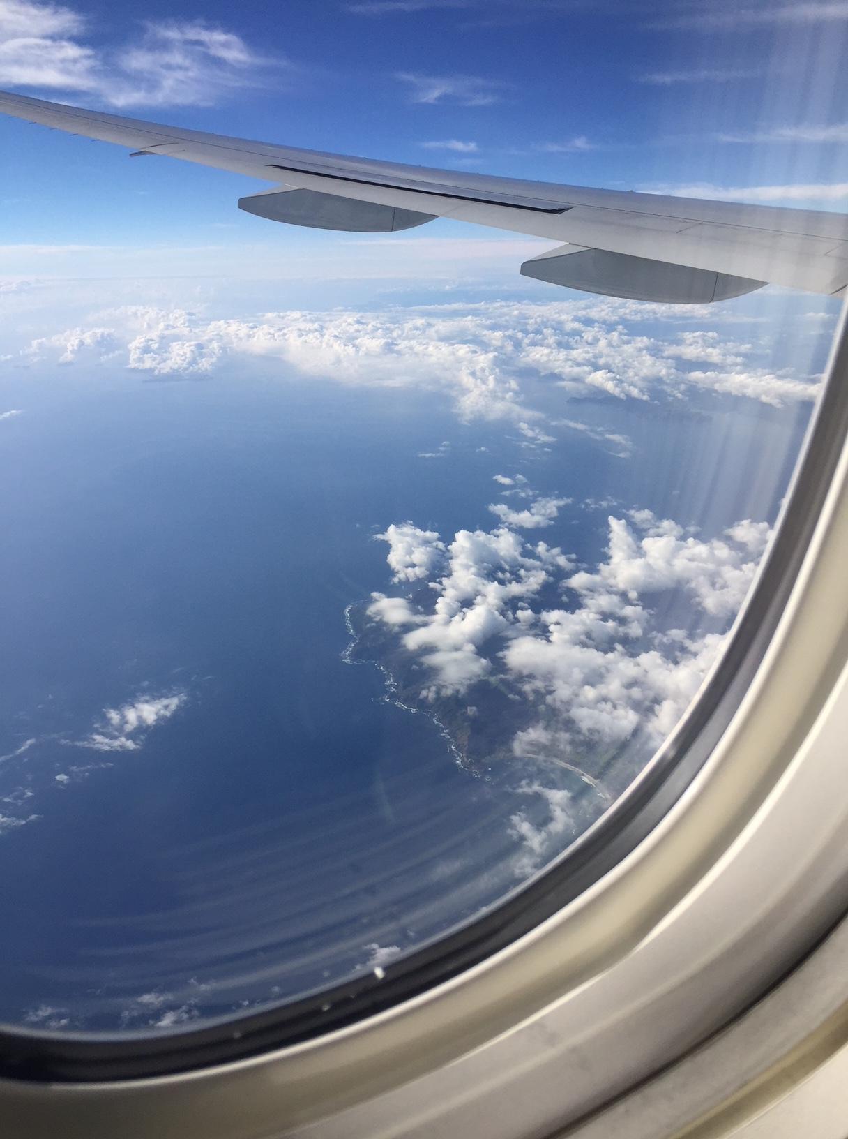 Requisite Airplane Window Shot Ramblings In New Zealand